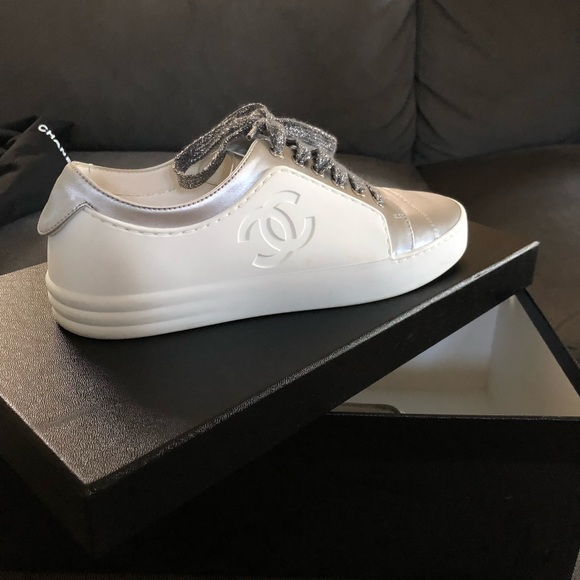 Chanel Shoes Authentic Sneakers Womens Brand New Poshmark